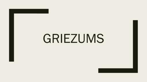 Griezums