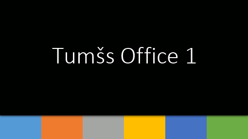 Tumšs Office 1