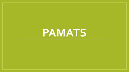 Pamats