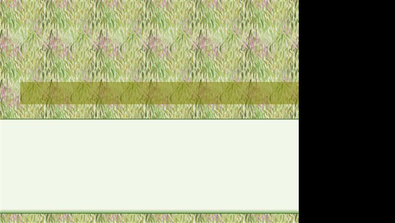 Veidne ar pļavas noformējumu