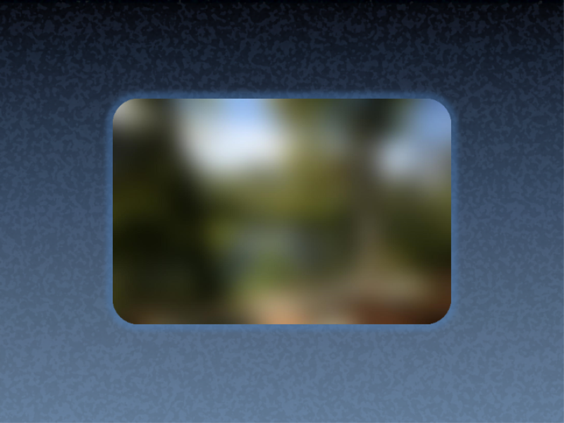 Animēts attēls, kura asums pakāpeniski palielinās