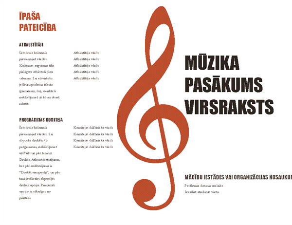 Mūzikas programma