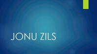 Jonu zils
