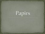 Papīrs