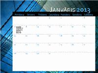2013. gada kalendārs (no pirmdienas līdz svētdienai)