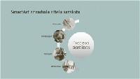 SmartArt process ar radiālu attēlu sarakstu (platekrāna)