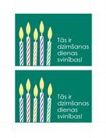 Ielūgums uz dzimšanas dienu