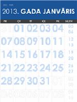 Daudzkrāsains 2013.–2014.gada kalendārs (P–Sv)