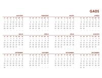 Globālais kalendārs visam gadam