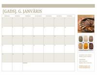 Kalendārs ar fotoattēliem (no pirmdienas)