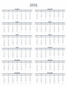 Viena gada kalendārs