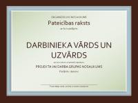 Novērtējuma sertifikāts