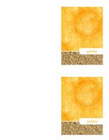 Pateicības kartīte (saules un smilšu noformējums)