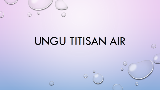 Ungu Titisan Air