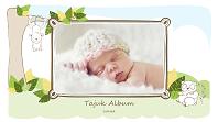 Album foto bayi (lakaran haiwan, skrin lebar)