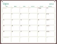 Kalendar akademik 2014-2015 (Ogos-Julai)