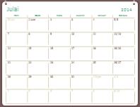 Kalendar akademik 2014-2015 (Julai-Jun)