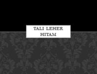 Tali Leher Hitam