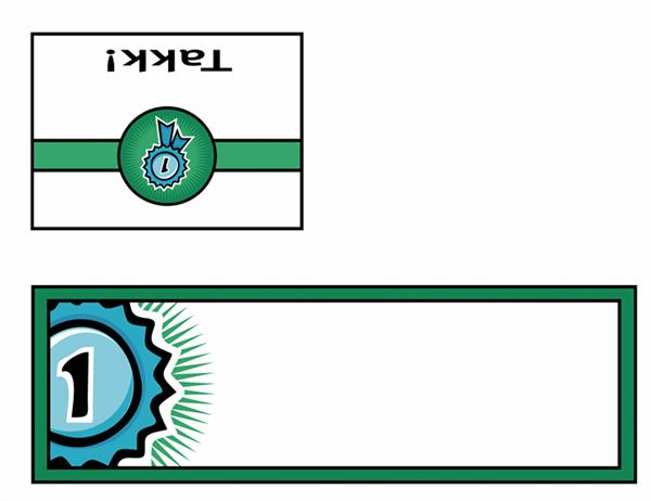 Takkekort (med førsteplassdesign)