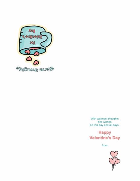 Valentinsdagskort
