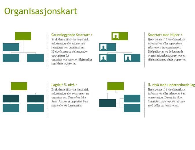 Organisasjonskart (visuelle)