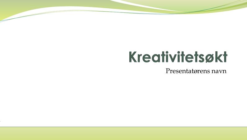 Presentasjon for idédugnad i bedriften