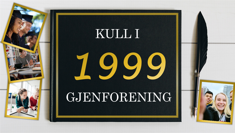 Fotoalbum for gjenforening