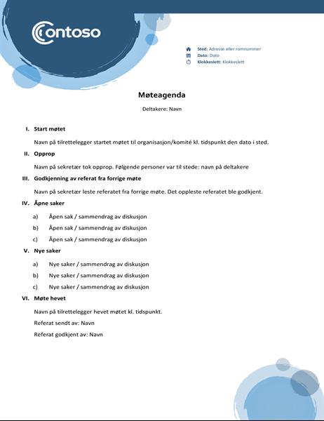 Blå sfærer-agenda