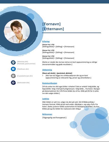 Blå sfærer-CV