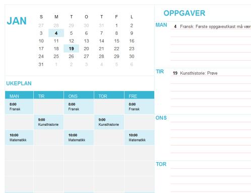 Studentkalender