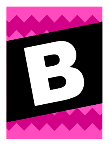 Banner med Bon Voyage – grafikkmønster