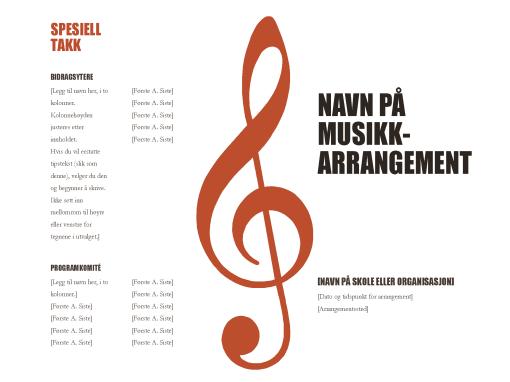 Musikkprogram