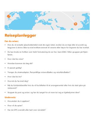 Reiseplanlegger