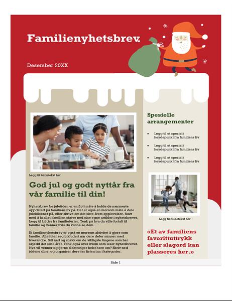 Familiens julebrev
