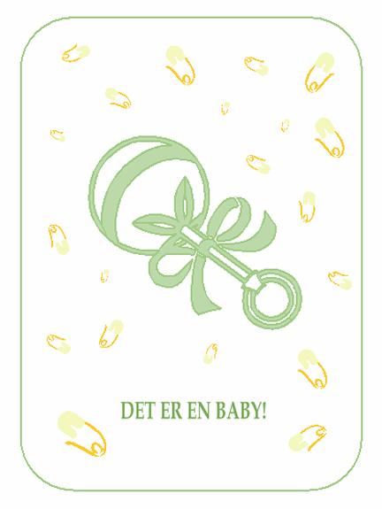 Invitasjon til baby shower – svar utbes