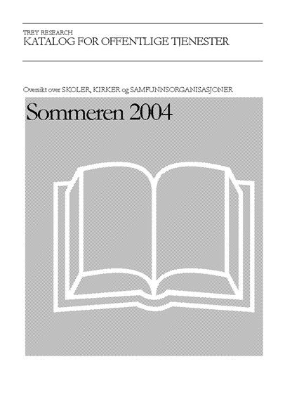 Katalog for fellesskapstjenester