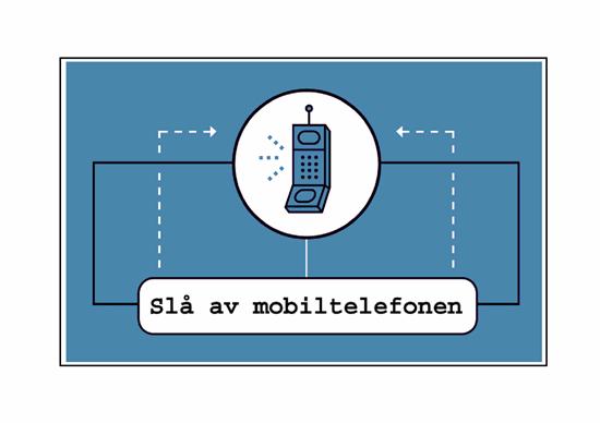 Påminnelse for mobiltelefon