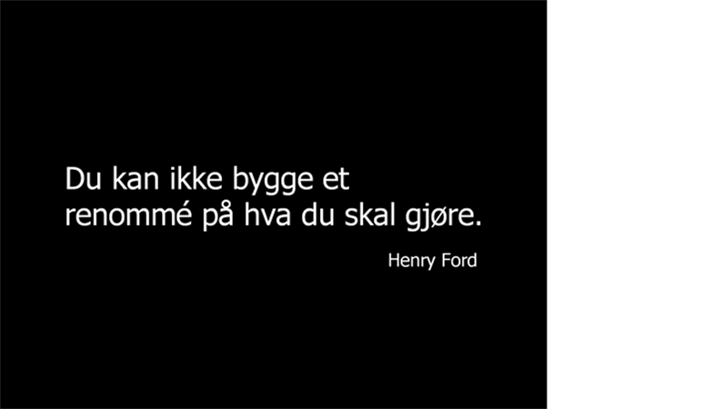 Henry Ford – sitatlysbilde