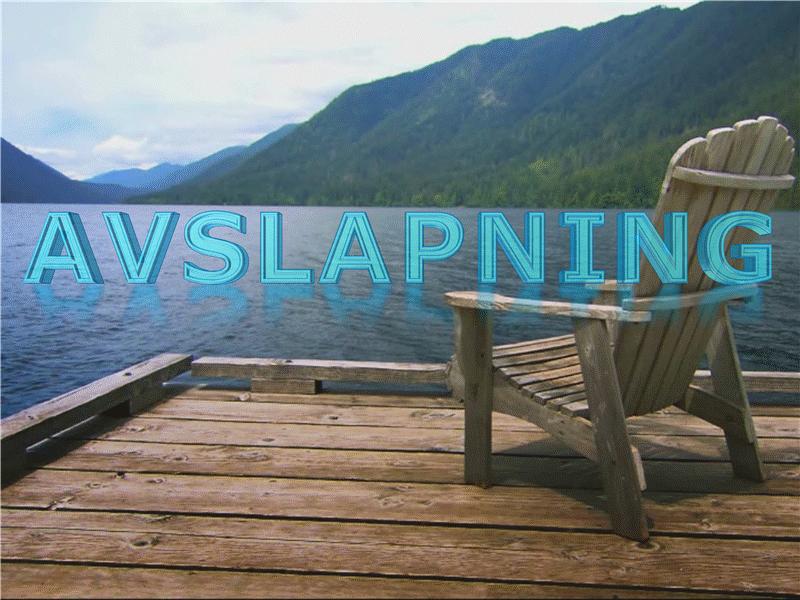 Avslapping ved sjøen (med video)