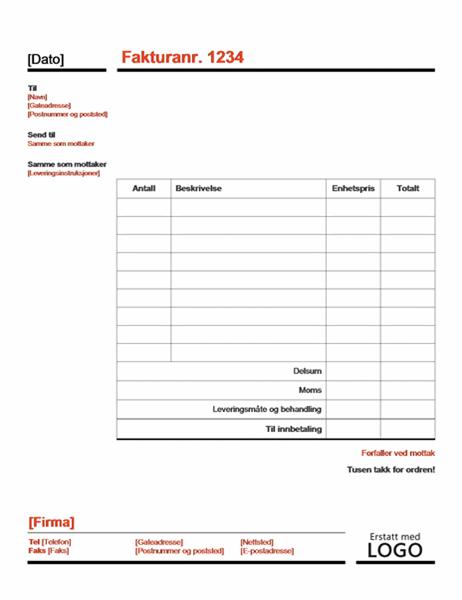 Fakturaer Officecom