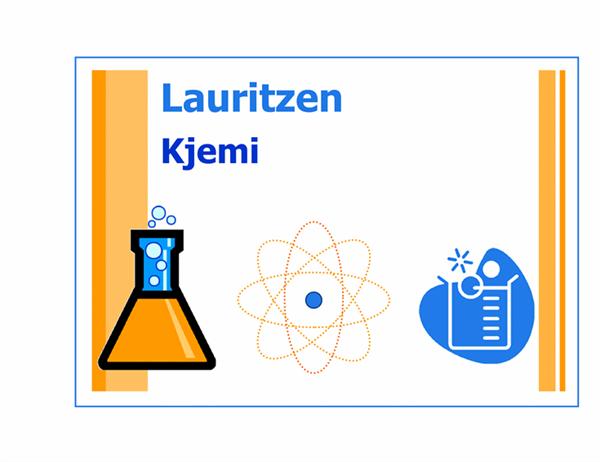 Klasseromsskilt (kjemi)
