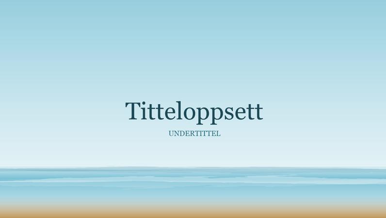 Presentasjon av sjømotiv (widescreen)