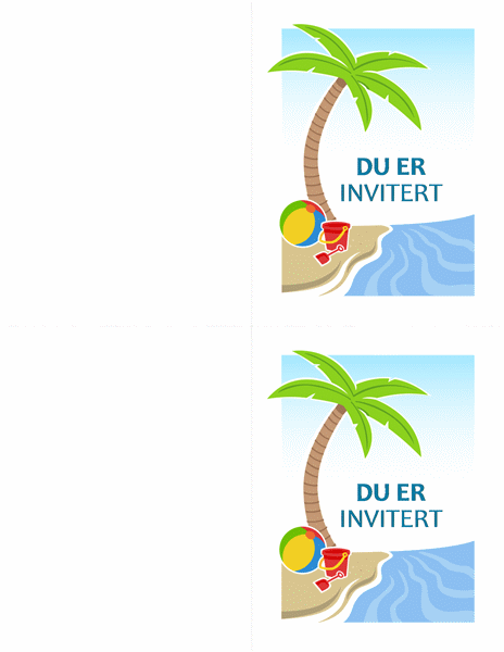 Invitasjon til fest
