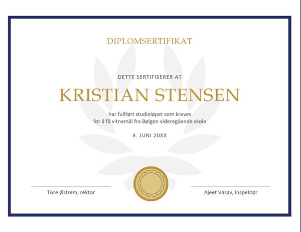 Diplomsertifikat