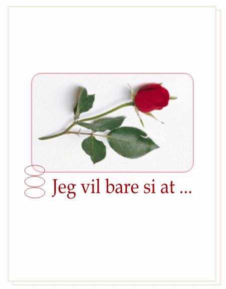 Romantisk kort