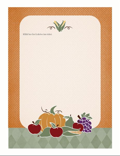 Mal (høstemotiv)