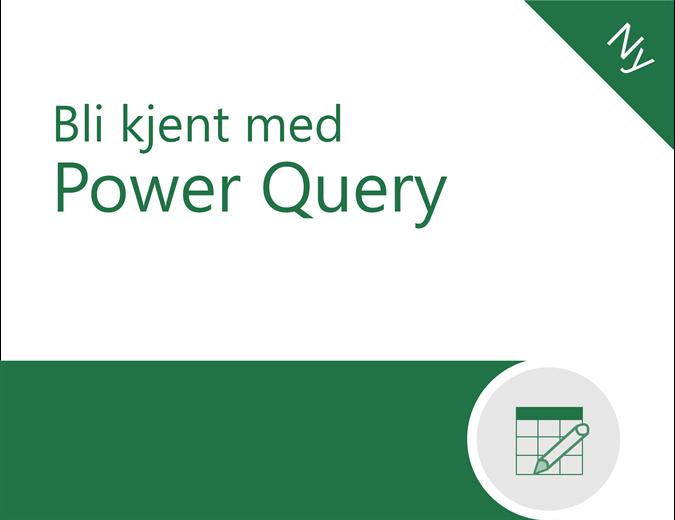 Opplæring i Power Query