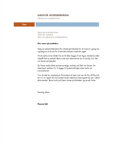 Forretningsbrev (Median-tema)