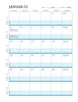 Timeplankalender