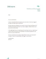 Personlig brevhode